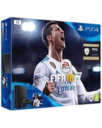 PLAYSTATION PS4 SONY SLIM 1T + JEUX FIFA 2018