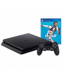PLAYSTATION PS4 SONY SLIM 1T + JEUX FIFA 2019