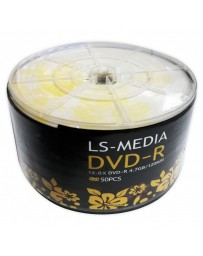 DVD-R LS-MEDIA 4.7GB/120MIN IMPREMABLE PQ50