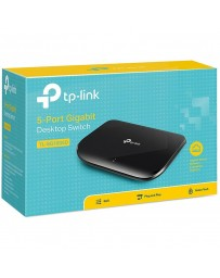 SWITCHEUR TP-LINK TL-SG1005D 5 PORT 10/100/1000M PLASTIC