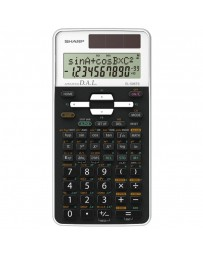 CALCULATRICE SHARP EL-506TS-WH