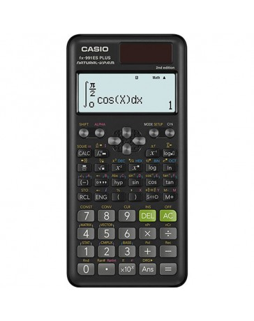 Calculatrice Scientifique CASIO FX-991ES Plus Noir