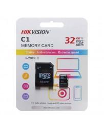 CARTE MEMOIRE SD HIKVISION 32GB + ADAPTATEUR