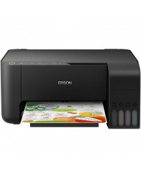 Imprimante Jet d'Encre à Réservoir Intégré EPSON ECOTANK L3150 3En1 Couleur - Wi-Fi