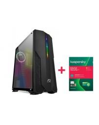PC GAMER SPIRIT 3 I3 9100F 8Go 120Go SSD + KASPERSKY