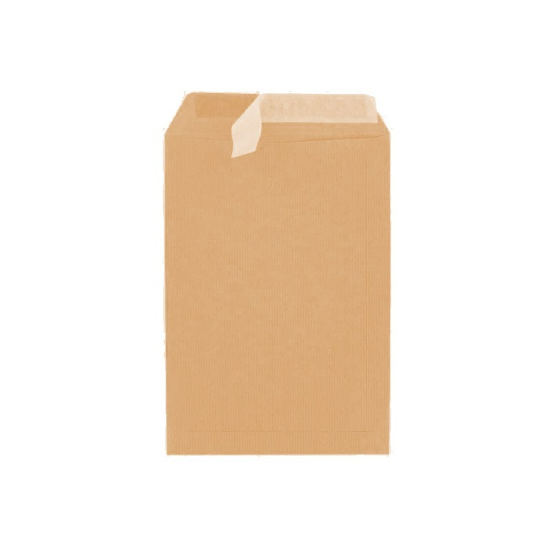 Enveloppe Kraft SOBRESIL 176X250 STRIP 90GR
