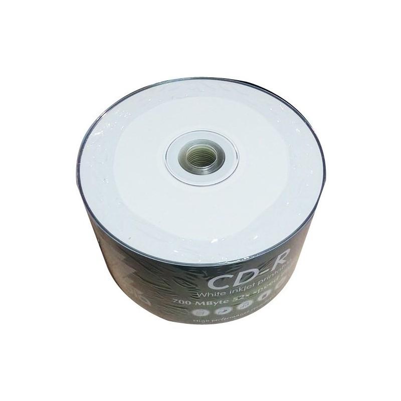 Bobine de 50 CD-R 52X ZZ MEDIA Imprimable 700 Mo