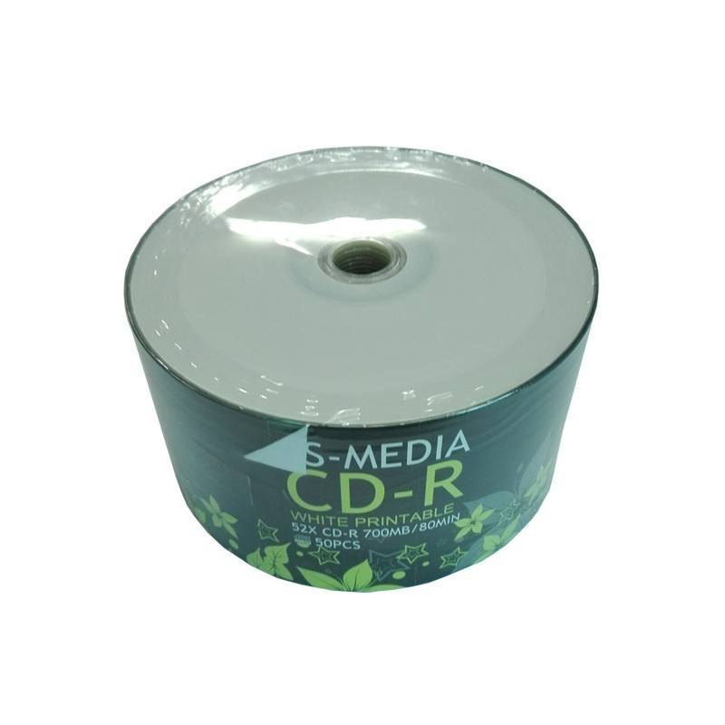 Bobine 50 piece 80MIN MEDIA CD-R 52X