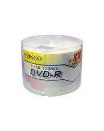 DVD-R SLIM PRINCO 24X SPEED 60PCS