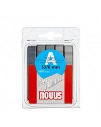 Agrafes NOVUS 53/6mm B/2000