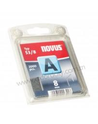 Agrafes NOVUS 53/8 B/2000