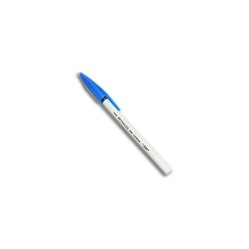 Stylo à Bille REYNOLDS point fine 045- Bleu