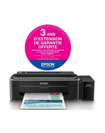 Imprimante à réservoir intégré Couleur Epson L310 + 2x Bouteilles d'encre Noir