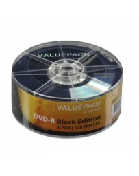 DVD-R VALUE PACK TRAXDATA NON IMPRIMABLE X8 PACK DE 25