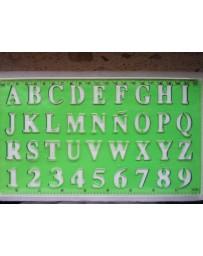 Régle de Numéros et Lettres