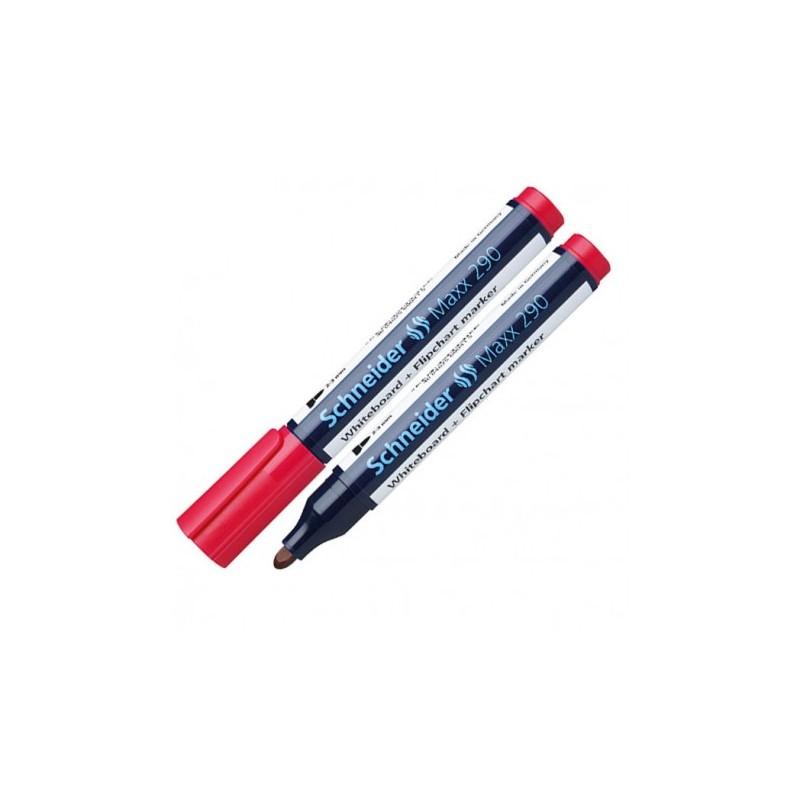 Marqueur Tableau Schneider Maxx 290 - Rouge