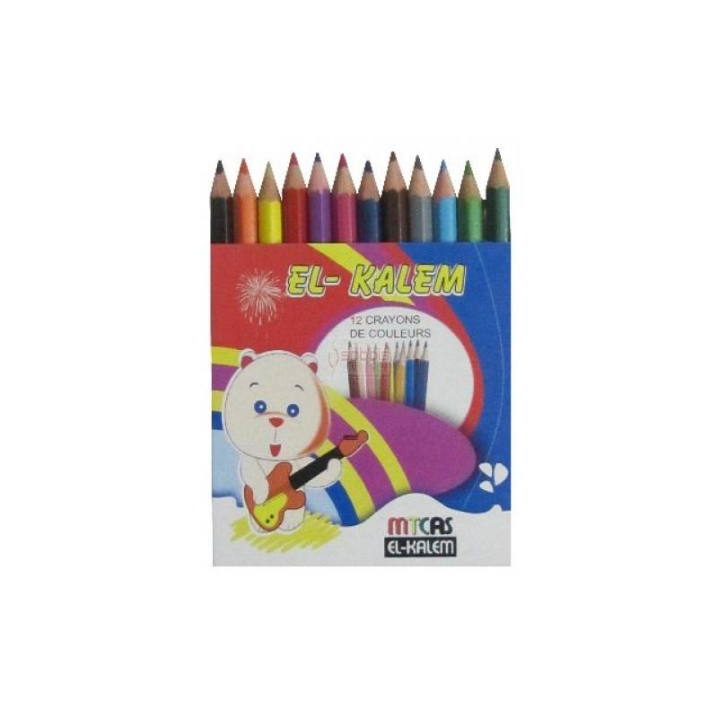 Crayon De Couleur El Kalem 6 Couleurs - CC 12/9