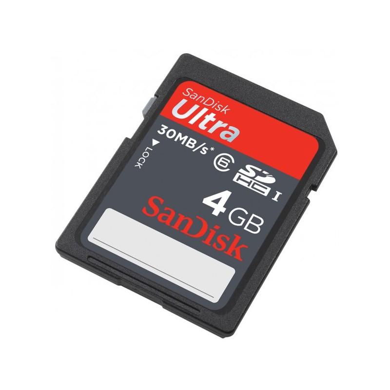Carte mémoire SanDisk Ultra SDHC 4 Go