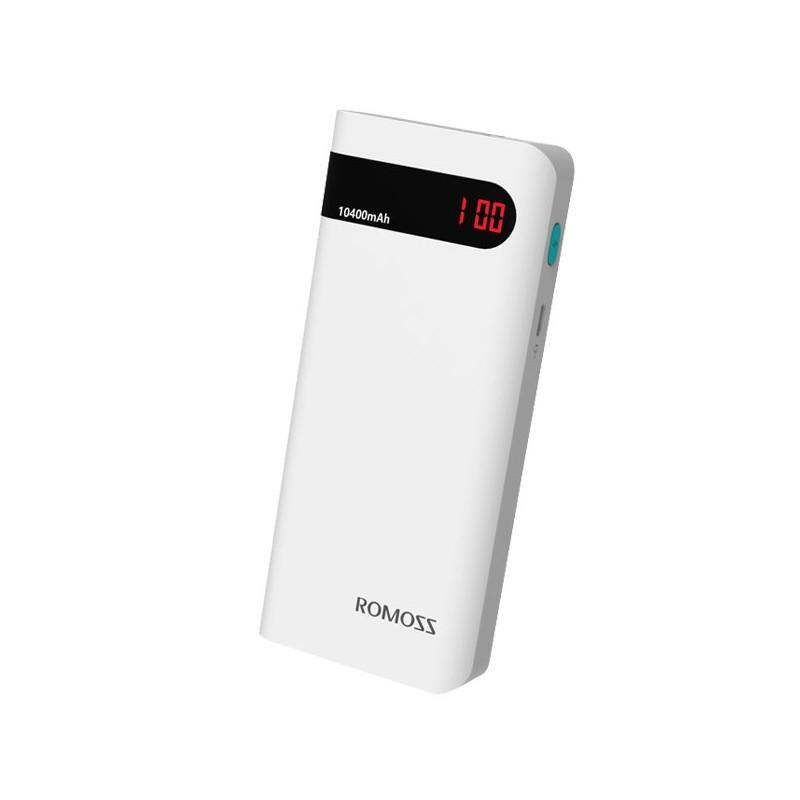 Romoss PowerBank Sense 4P PH50 10400 mAh - Blanc