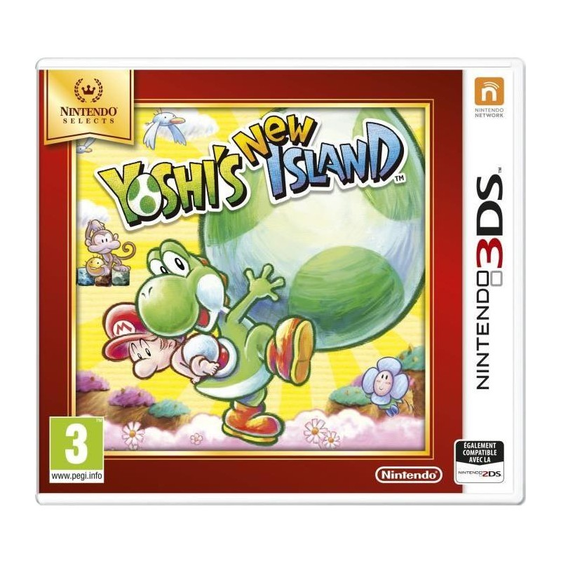 Jeu Selects 3DS Yoshi's New Island