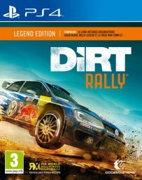 Jeux PS4 Dirt Rally Legend Edition
