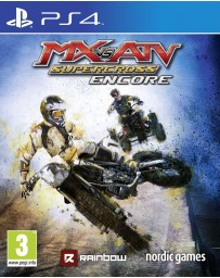 Jeu PS4 MX vs ATV - Supercross Encore