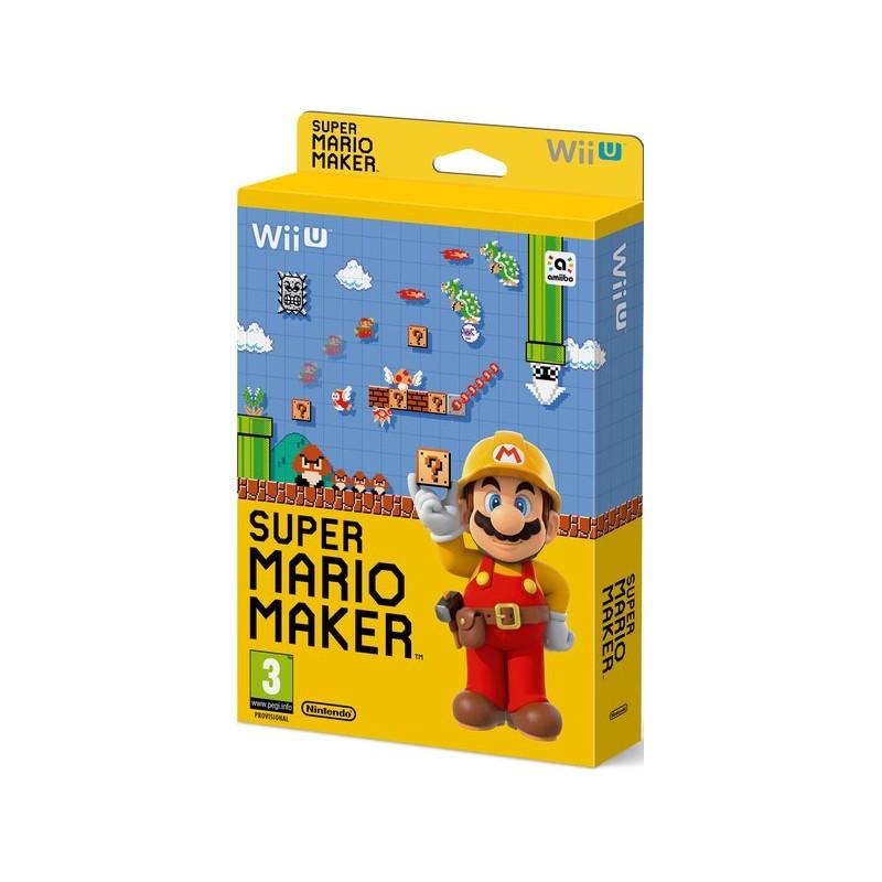 Jeu Super Mario Maker + Artbook Wii U