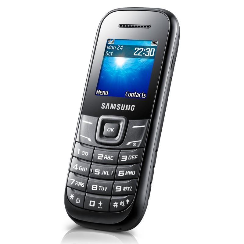 Téléphone Portable Samsung E1200R Noir