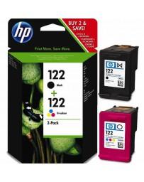 PACK DE 2 CARTOUCHES HP N°122 CR340HE