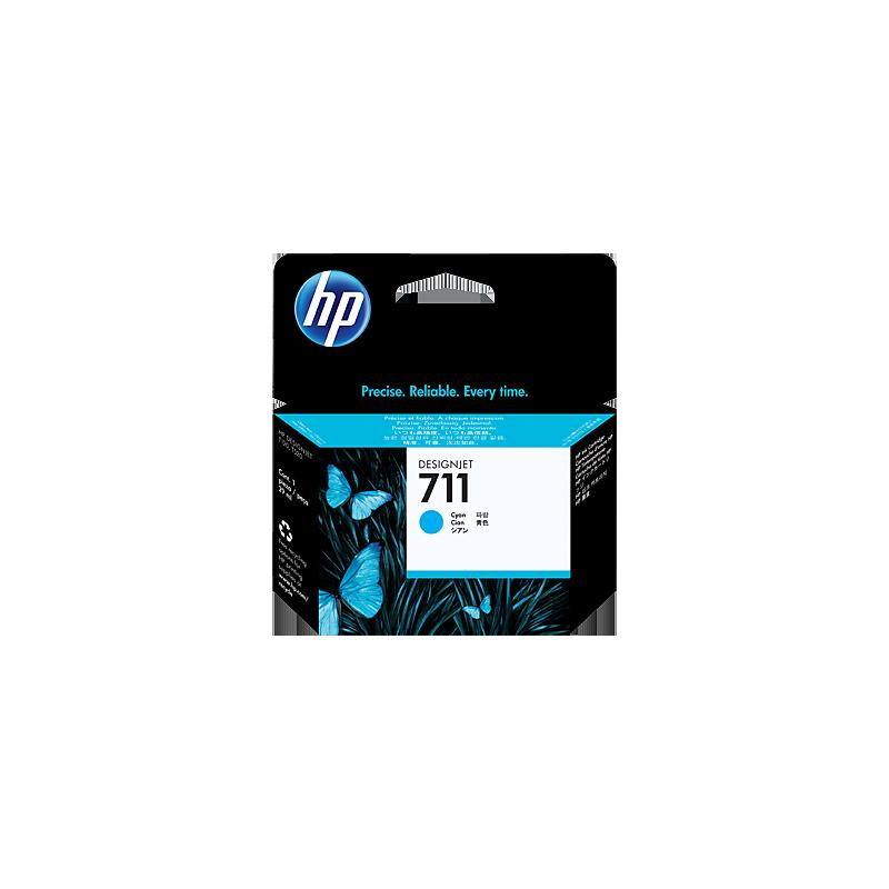 Cartouche d'encre HP 711 cyan 29 ml