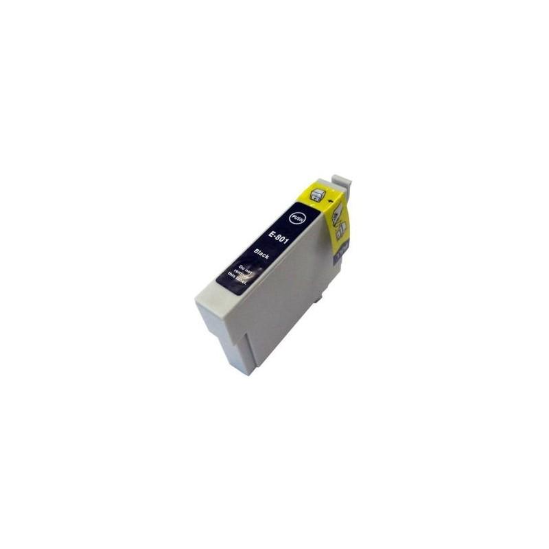Cartouche d'encre compatible EPSON T0801 Noir