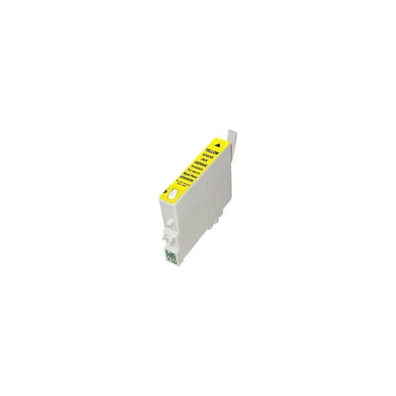 Cartouche Cd'encre Compatible EPSON T0804 Jaune