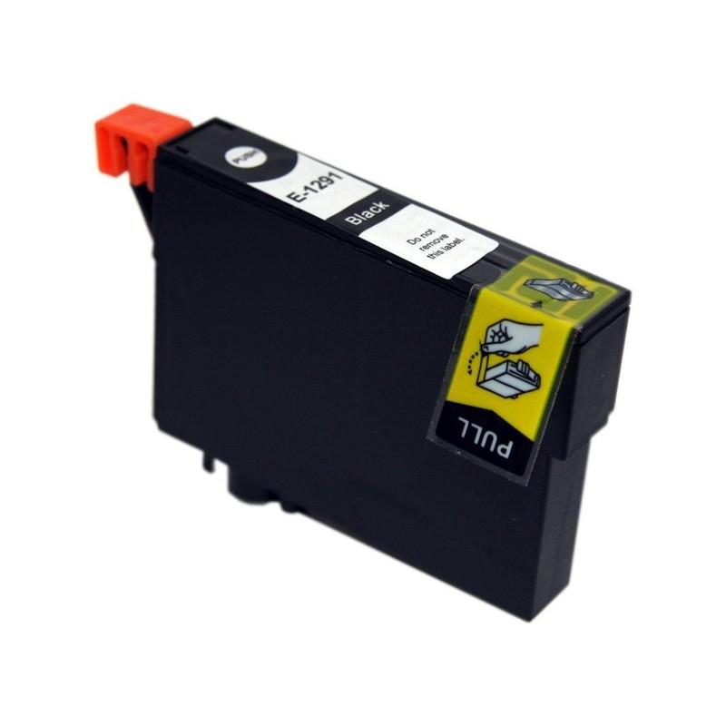 Cartouche d'encre adaptable EPSON E-1291 Noir