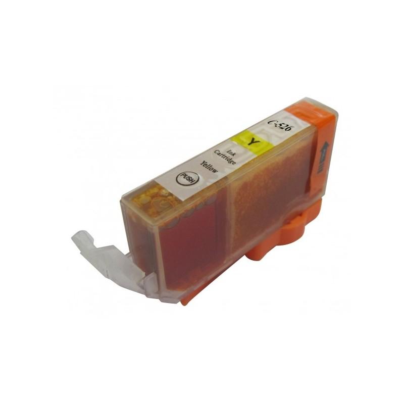 Cartouche d'encre Adaptable CLI-526 Jaune