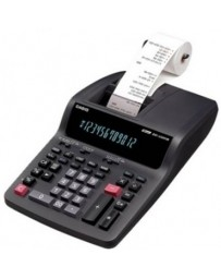 Bureau Calculatrice Imprimante Casio DR-120TM Noir