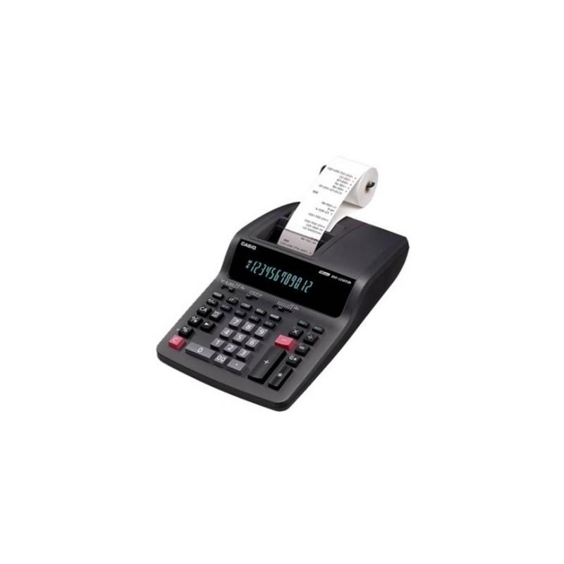 Bureau Calculatrice Imprimante Casio DR-120TM Noir