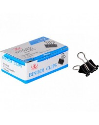 BINDER CLIPS YIZHIWANG 0004 25MM 12PCS