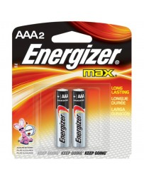 pile energizer AAA 2 pack