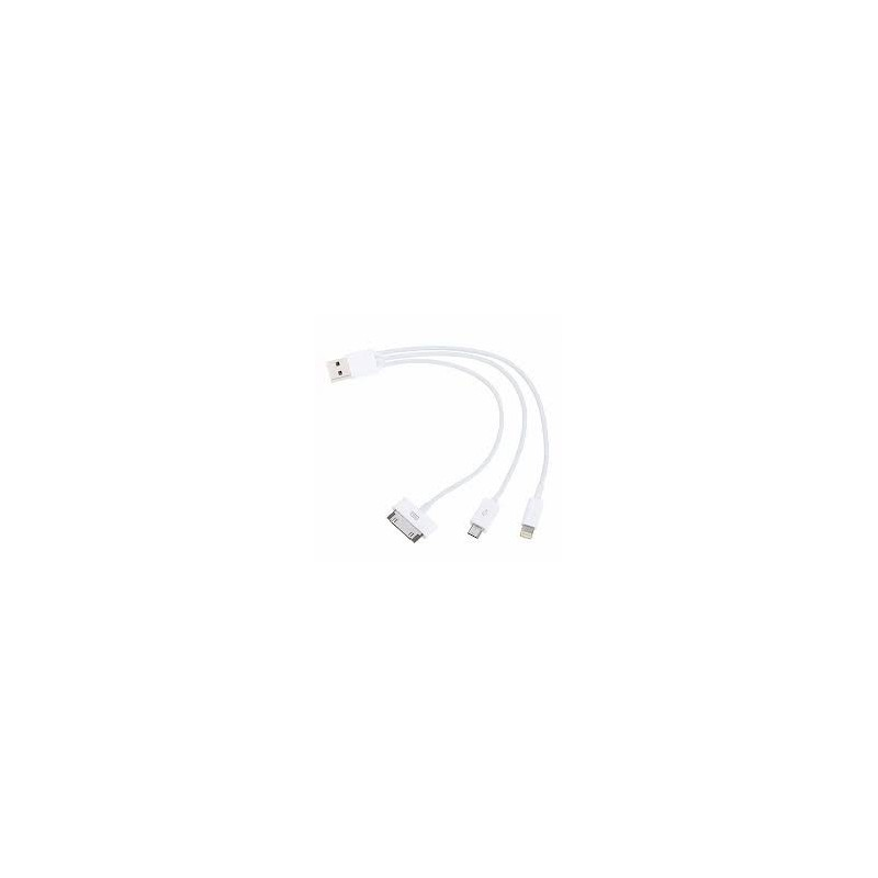 Cable USB 4-en-1 pour Apple
