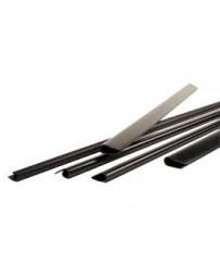 Baguette Slide Binder Noir 12mm 100Pcs