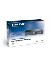Switch 16 ports 10/100 Mbps TL-SF1016DS
