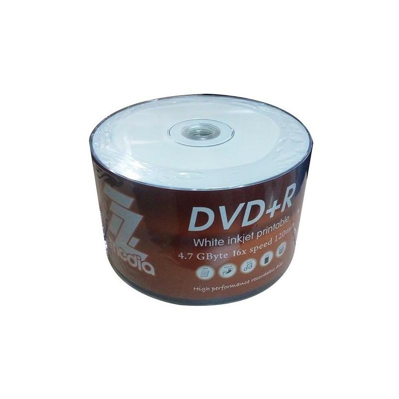 Bobine De 50 DVD+R 16X ZZ MEDIA 4.7 Go