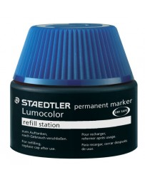RECHARGE STYLO PERMANENT BLEU STAEDLER 487 17-3