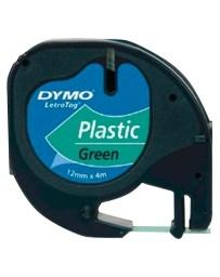 Ruban D'étiquettes DYMO Plastique 91204 Vert