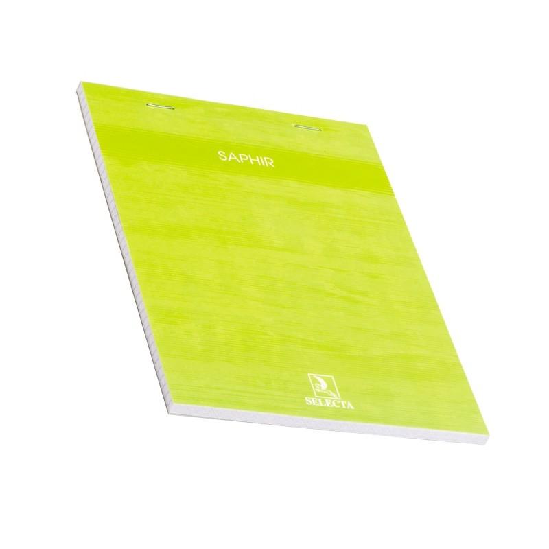 BLOC NOTE SAPHIR 100P A5 SELECTA