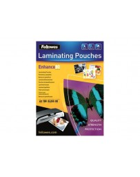 POCHETTE A PLASTIFIER FELLOWES 20*25 53596