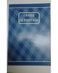 CAHIER DE POINTAGE 88P RIBAT