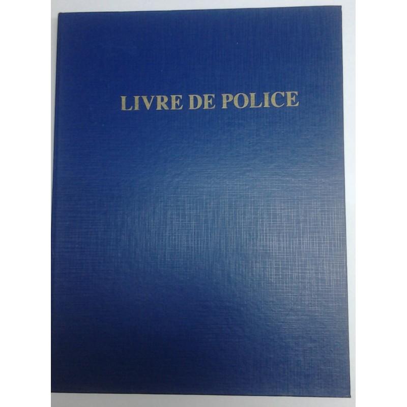 REGISTRE LIVRE DE POLICE RIBAT PAPIER
