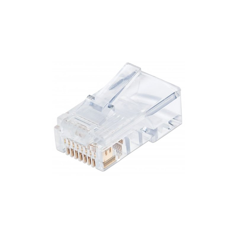 CONNECTEUR RJ45 UTP CAT 5E INTELLINET 502399