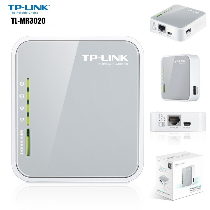 TP-LINK 3G/4G TO WIFI TL-MR3020